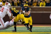 Tru Wilson is the most experienced running back in the Michigan backfield.
