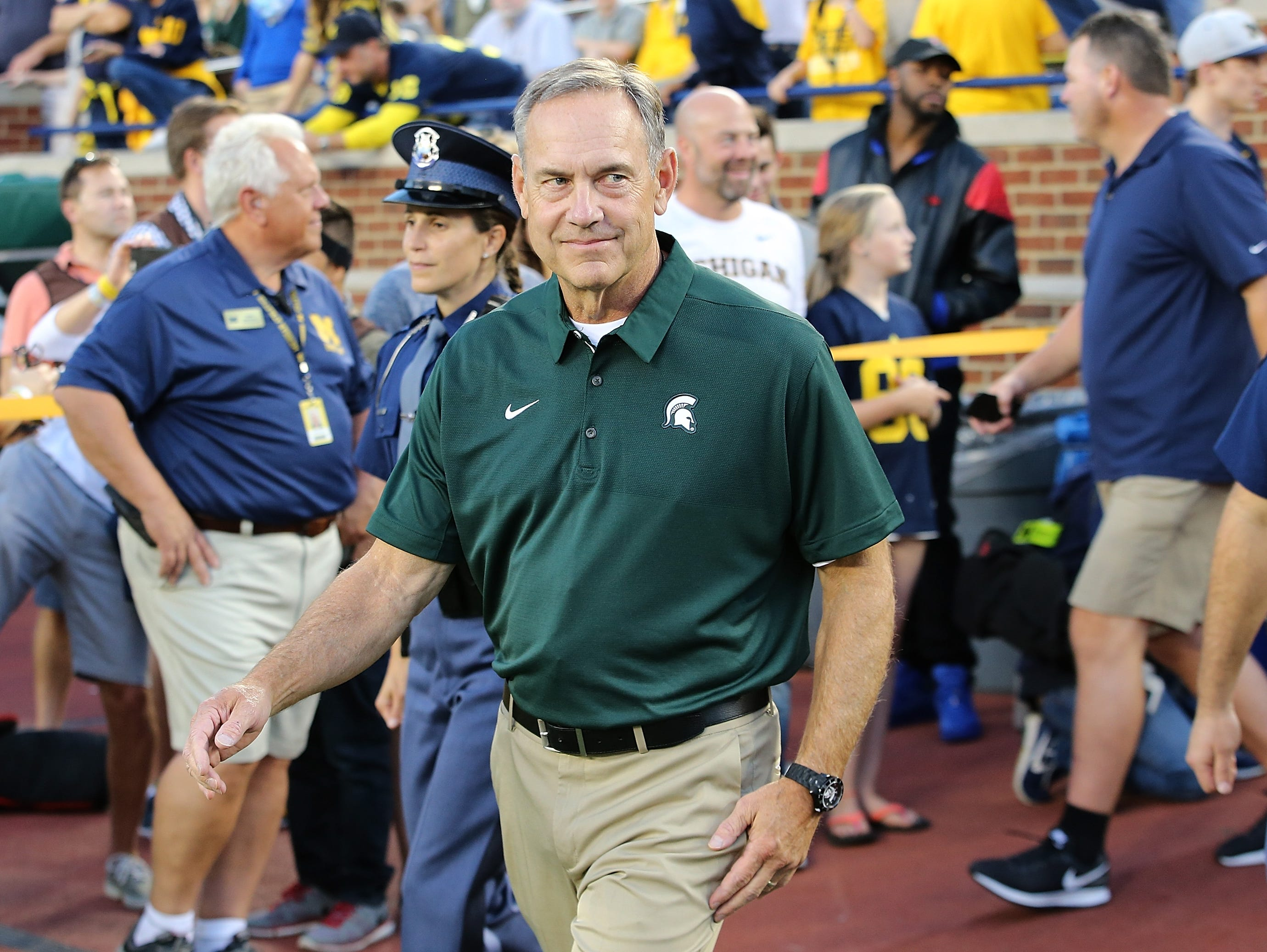 On Saturday, Mark Dantonio picked up his 10th victory over a top-10 opponent during his Michigan State tenure. Here's a look back at all 10.