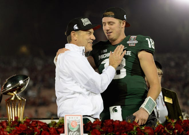 Connor Cook led MSU to a Rose Bowl victory over Stanford on Jan. 1, 2014.
