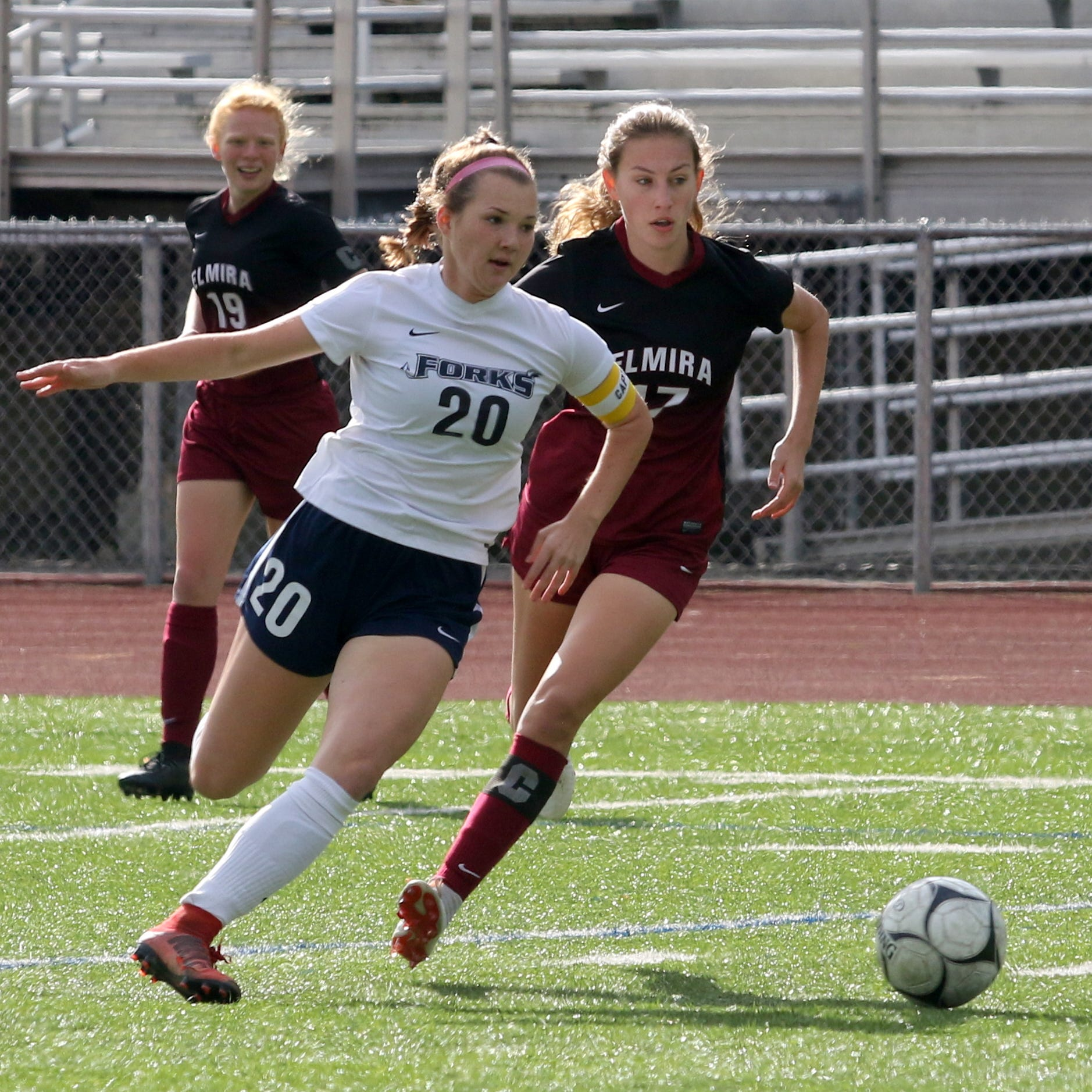 Emma Bough's hat trick lifts Chenango Forks girls past Elmira in STAC semifinal