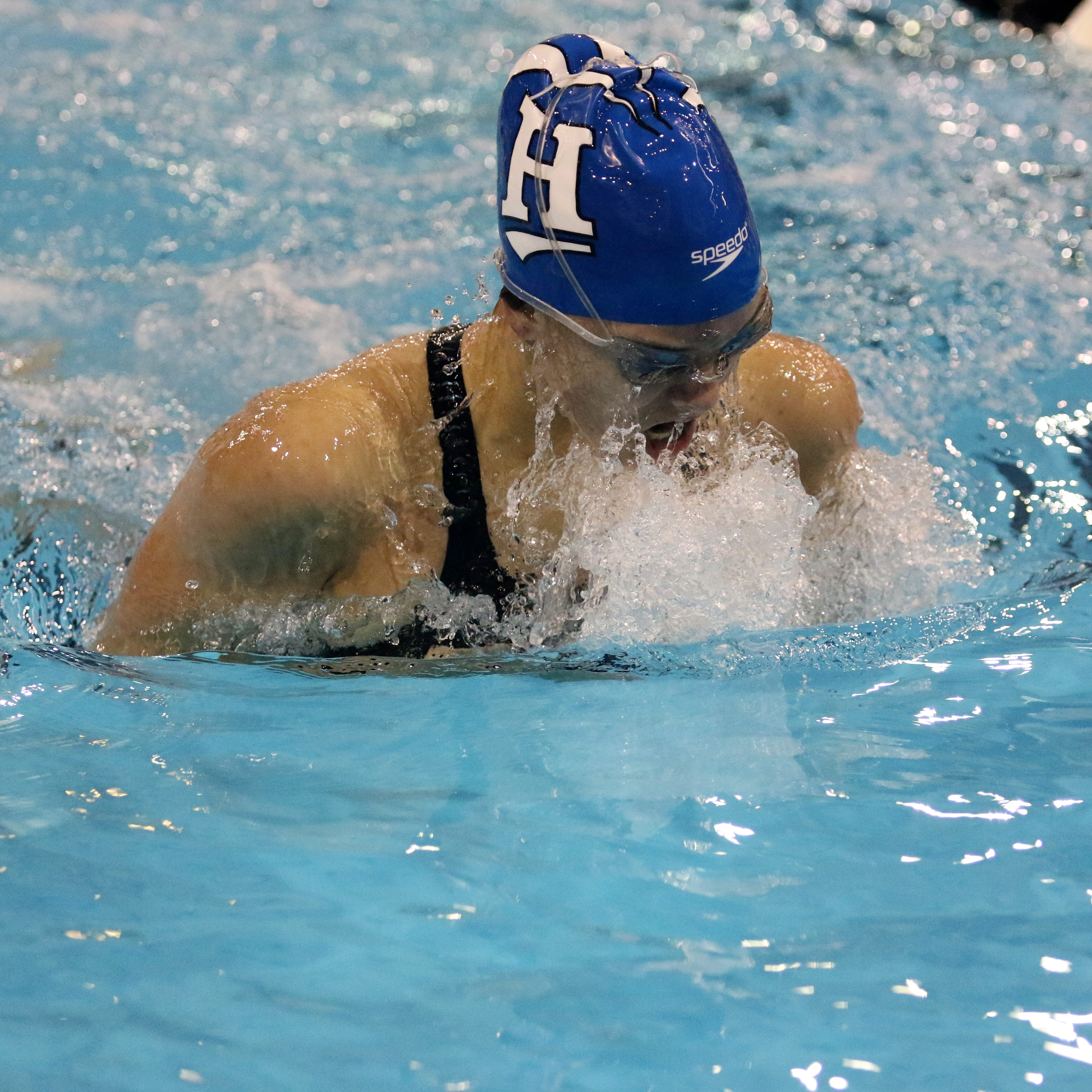 Horseheads' Sophia Verkleeren earns top honors at Elmira swim invitational