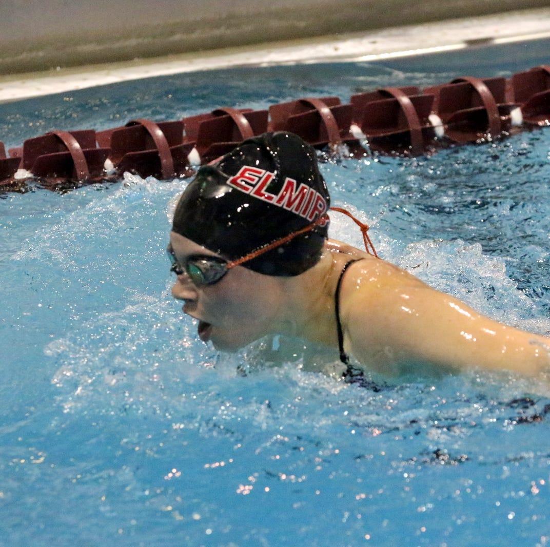 Gallery: Elmira girls swimming invitational