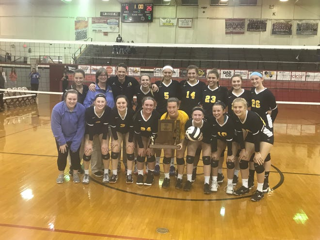 Castle beams after winning 25th sectional volleyball title in a row