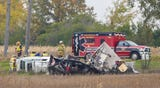 An SUV towing a trailer crashed on the south bound side of I-41 backing up traffic into Winnebago County.