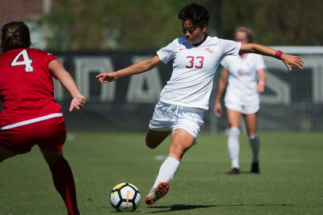FSU freshman midfielder Yujie Zhao scored her team-high sixth goal of the season during the Seminoles 1-1 draw against NC State on Saturday afternoon.