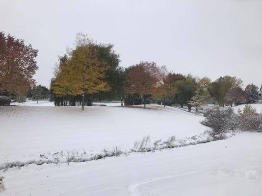 Oct 14 Snow