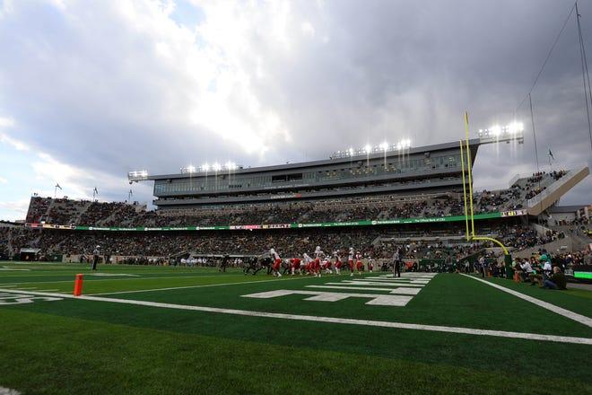 The CSU football team hosts Wyoming at 8 p.m. Friday at Canvas Stadium.