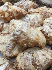 French almond croissants from Totally Baked.
