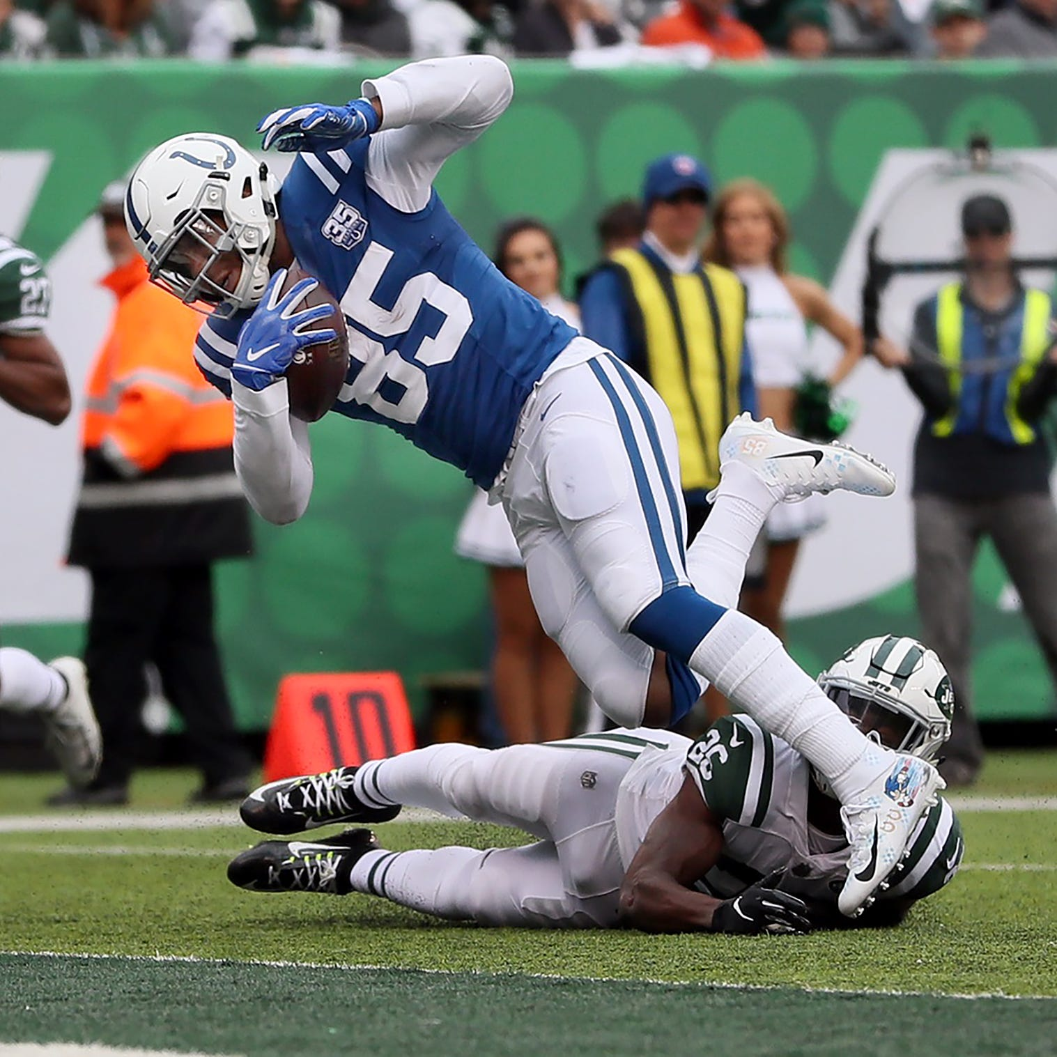 Turnovers, mistakes doom Colts in loss to Jets