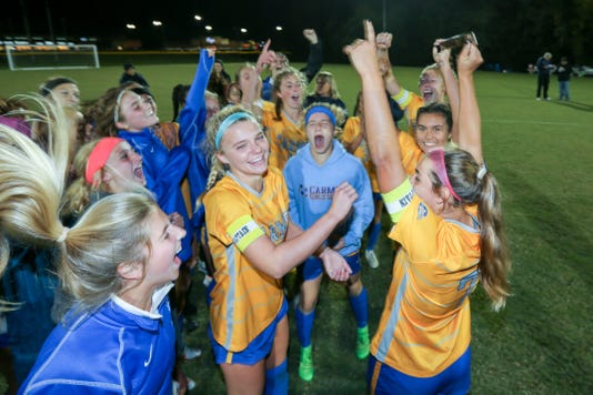 Carmel Vs Avon In The Ihsaa Class 3a Girls Soccer Regional State Tournament