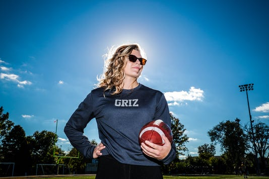 Female Reshman Student Football Coach Hopes To Be Playing Next Season At Franklin College