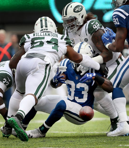 Indianapolis Colts Versus New York Jets At Metlife Stadium In Easter Rutherford N J Sunday Oct 14 2018