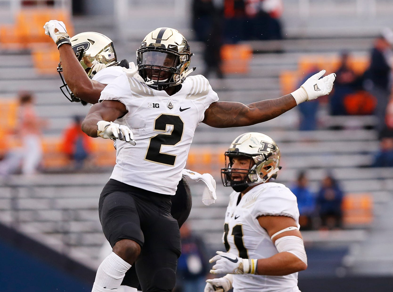 How they scored | Purdue football 46, Illinois 7