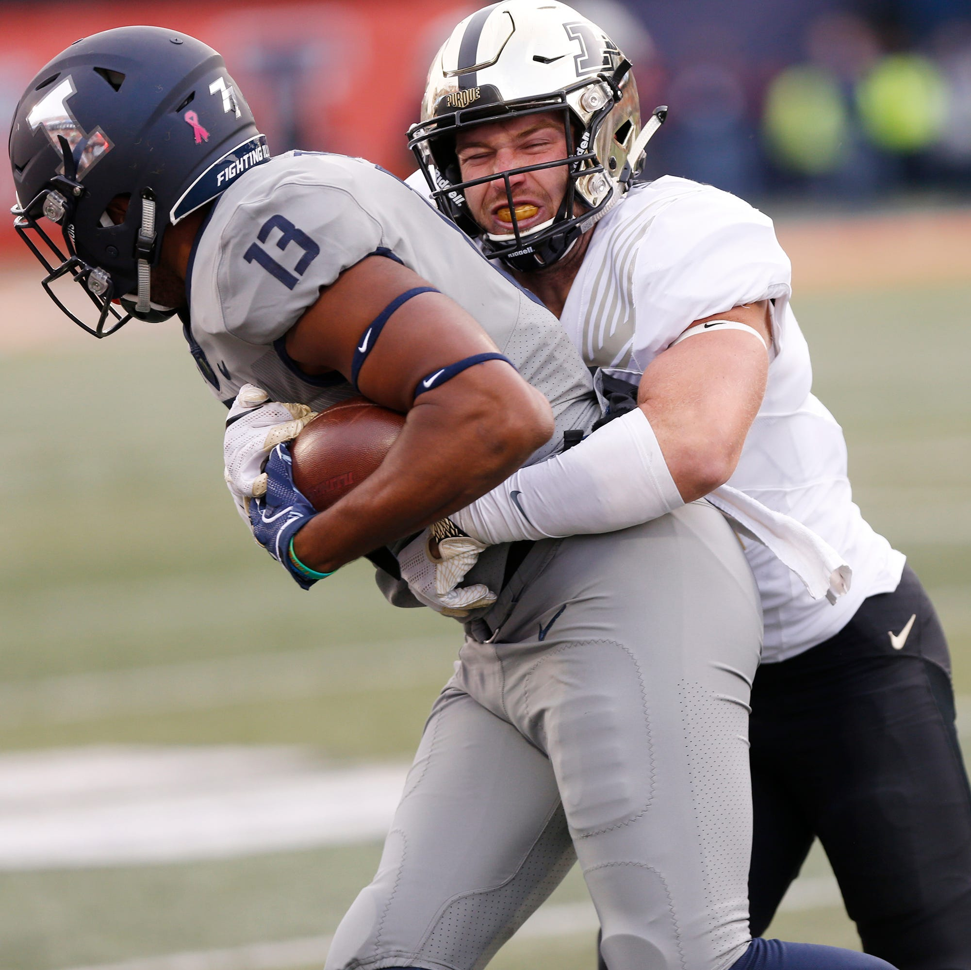 Purdue safety Jacob Thieneman 'feeling good' about playing in Music City Bowl