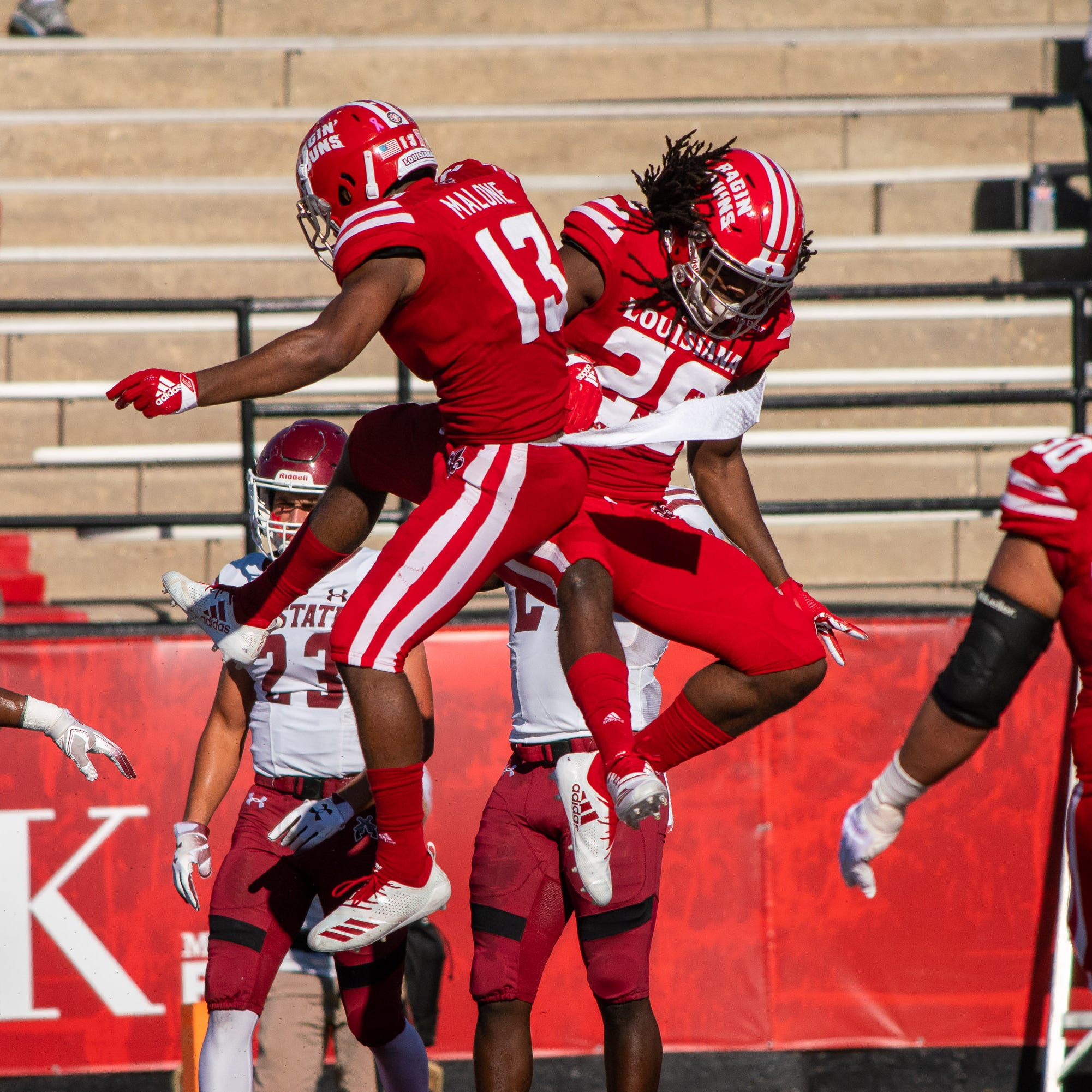 Records fall, points pile up in Cajuns win over NMSU