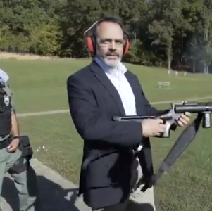 Matt Bevin goes full Rambo and throws grenades in new Twitter video