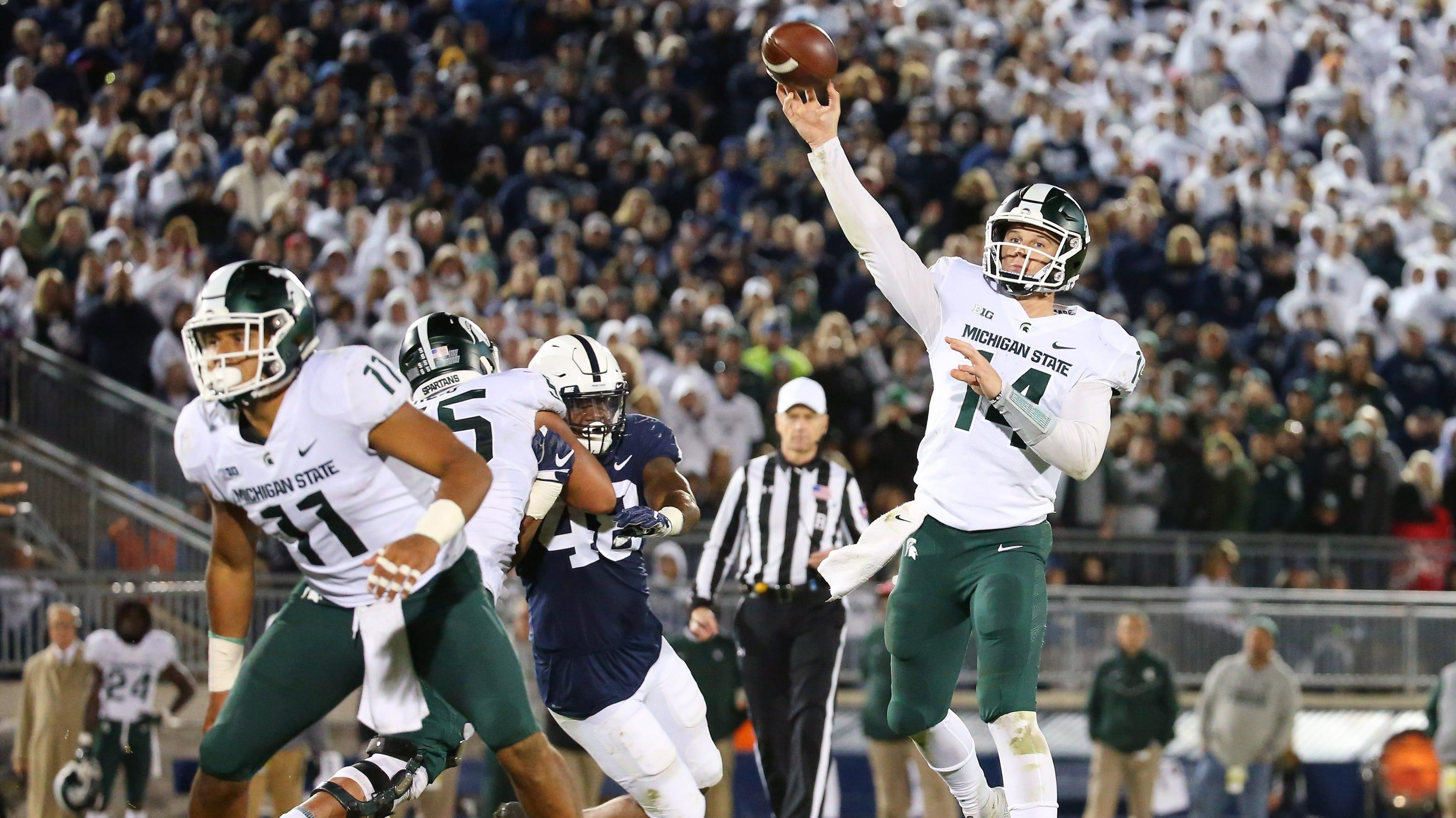 Michigan State football: Brian Lewerke done taking things