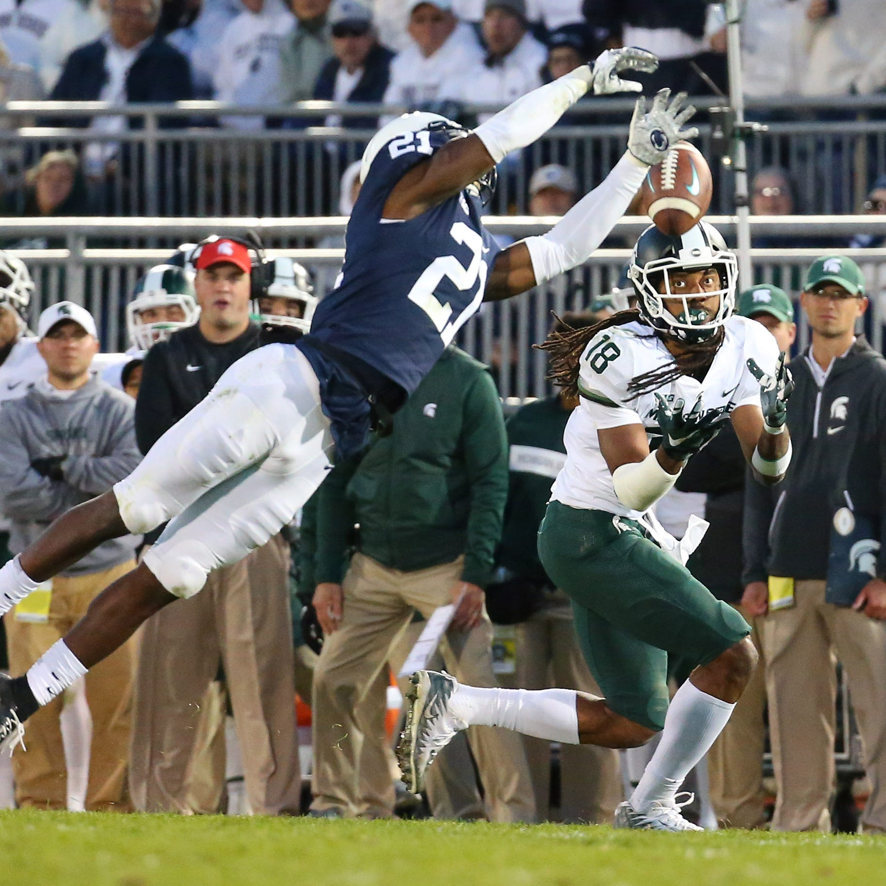 Grading Michigan State football after its win at Penn State