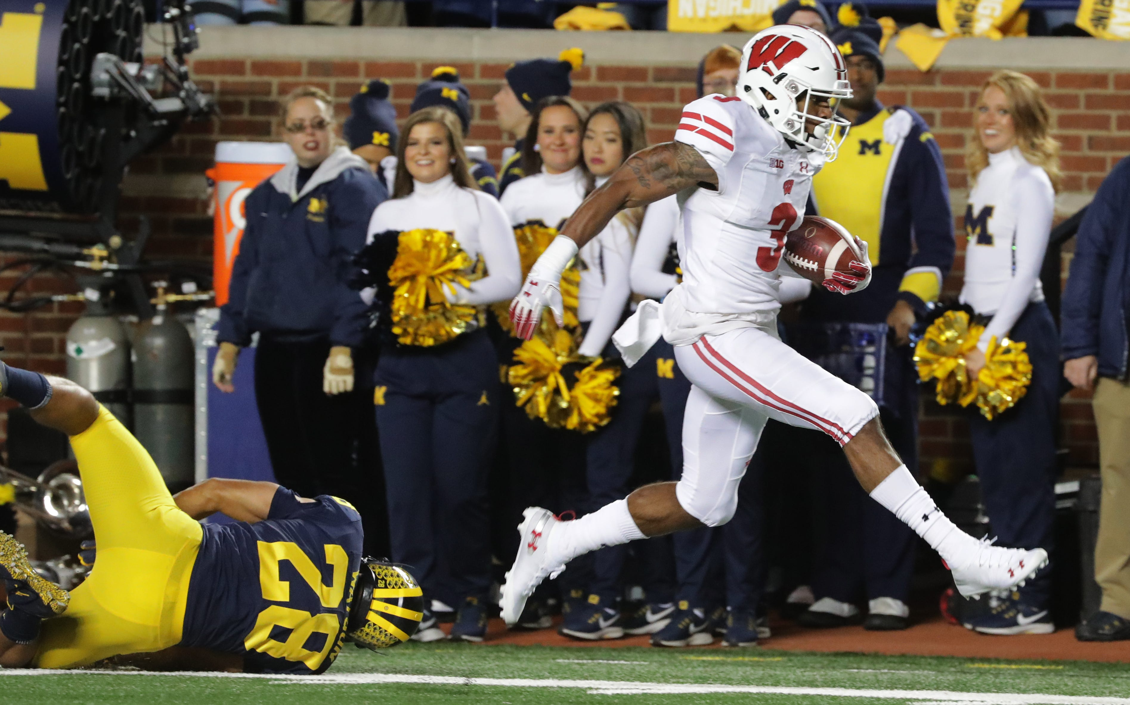 photograph relating to Michigan Football Schedule Printable identified as Research of each individual activity upon the 2019 Wisconsin Badgers