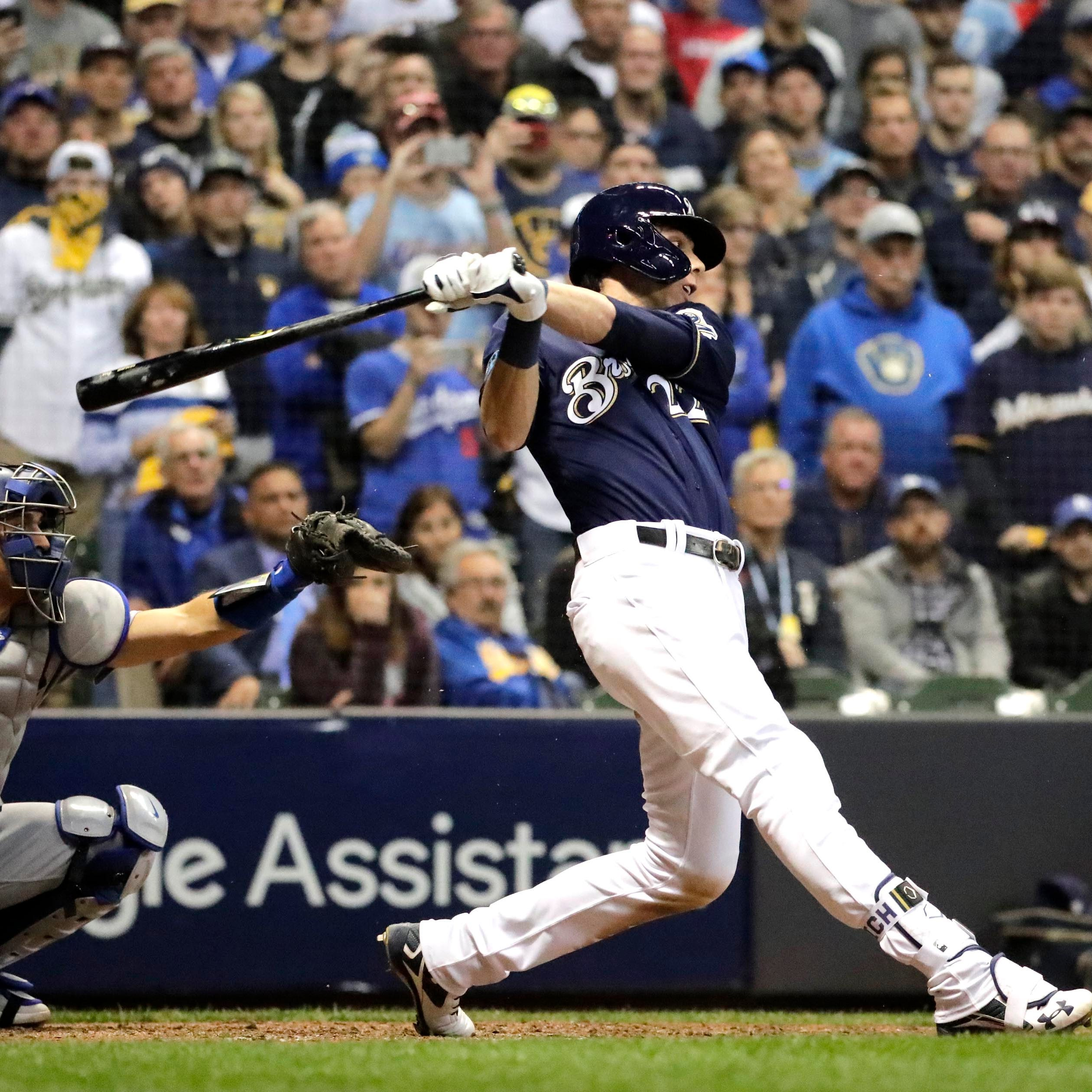 After couple of quiet games at plate in NLCS, Christian Yelich due to break loose for Brewers