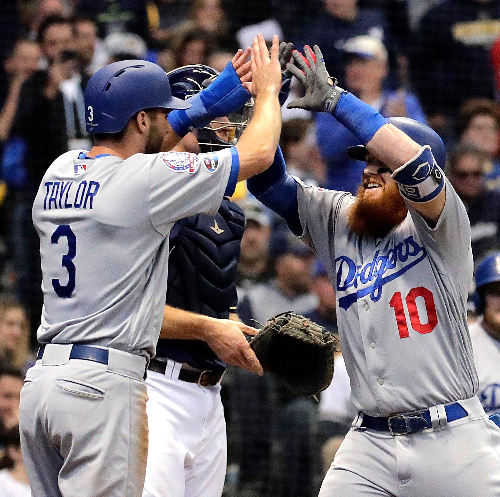 Dodgers 4, Brewers 3: Rare letdown by bullpen leads to Game 2 loss