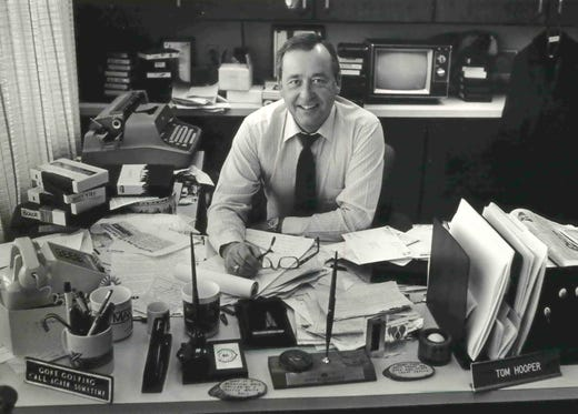 Tom Hooper helped thousands through