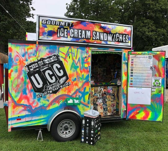 The colorful trailer for Underground Cookie Club, filled with unique ice cream sandwiches, is coming to Riverwalk Stadium in Montgomery on Oct. 20 for the Food Truck Mash-Up.