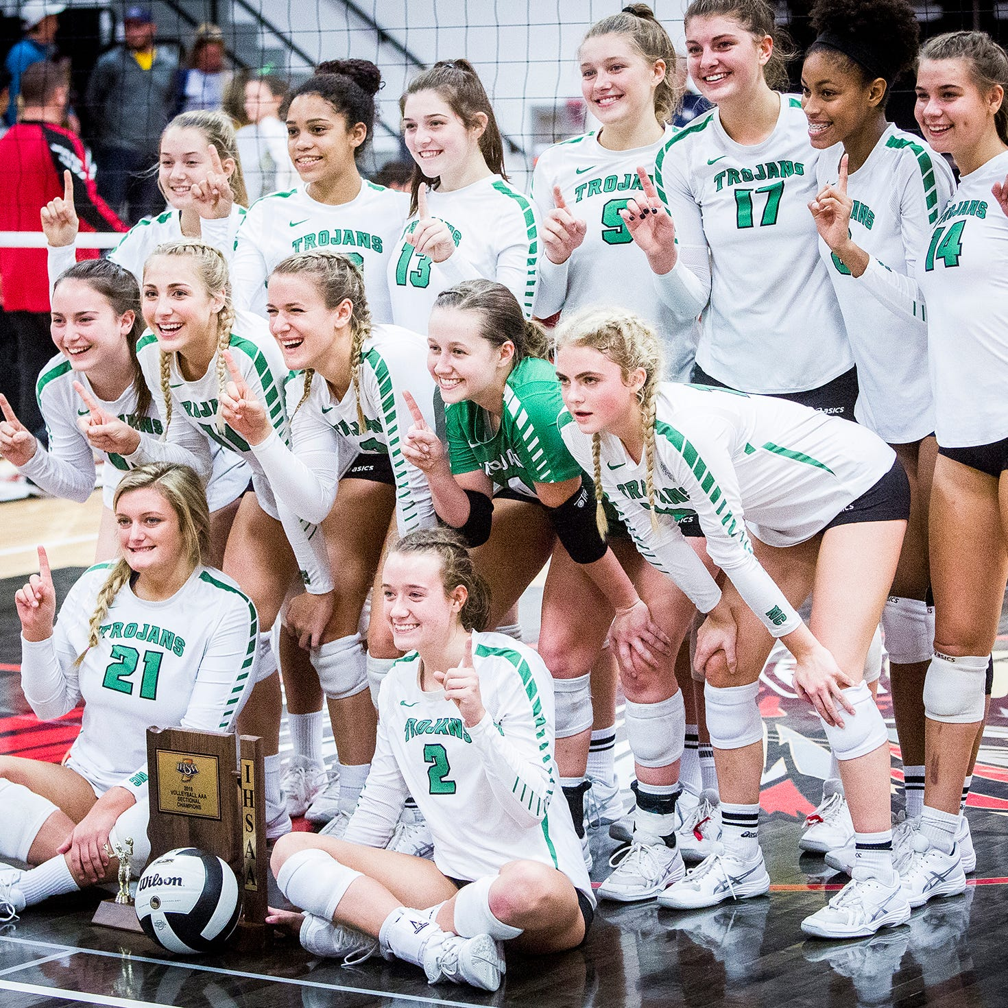 New Castle's road to repeat starts with sectional championship
