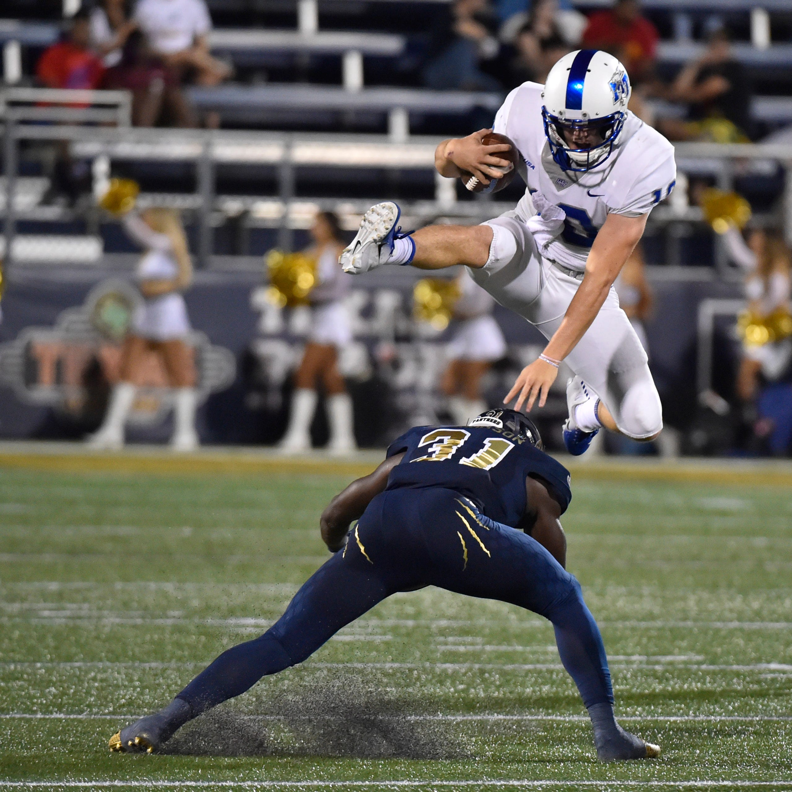 How backup quarterback Asher O'Hara ended up with MTSU football