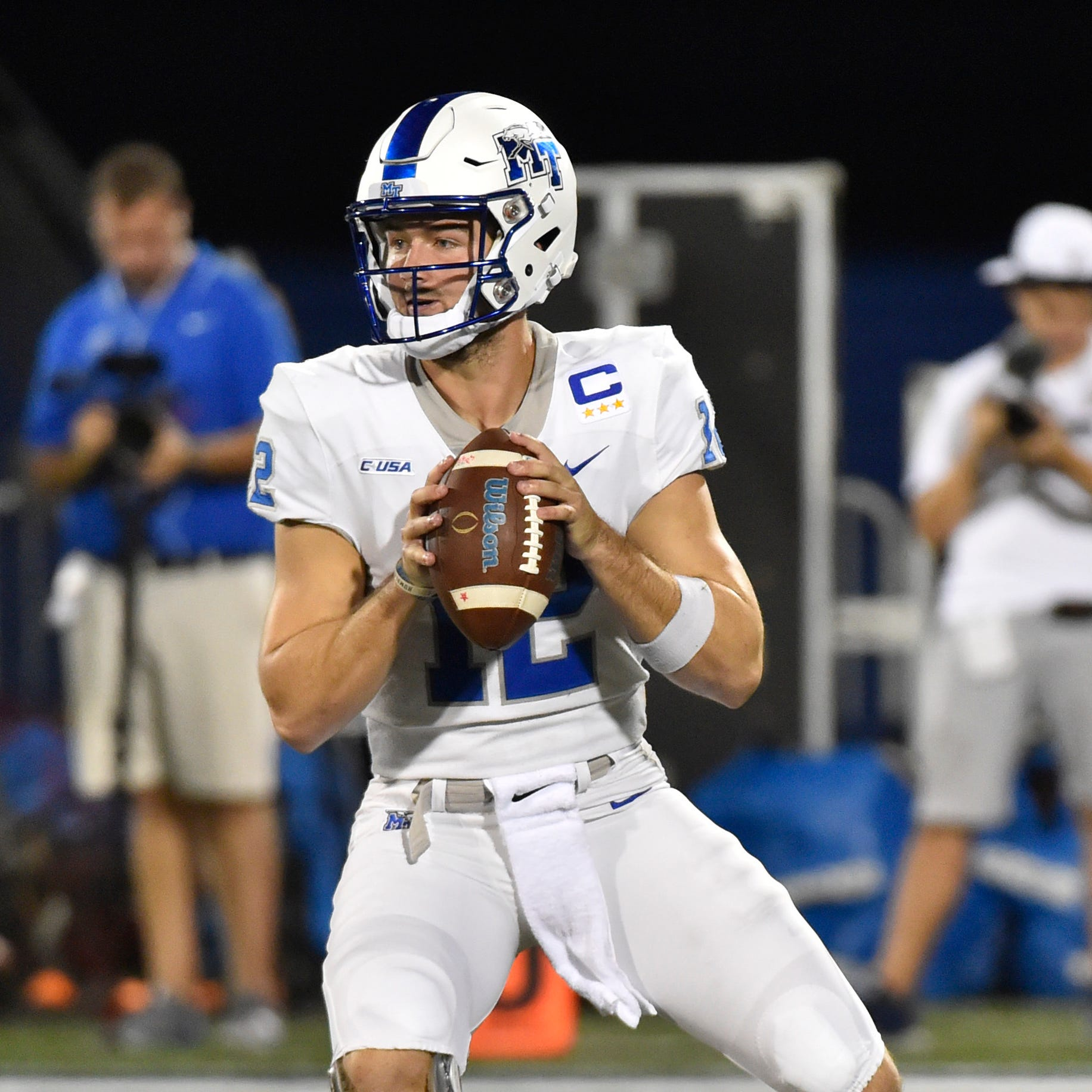 MTSU quarterback Brent Stockstill's status uncertain for Charlotte game