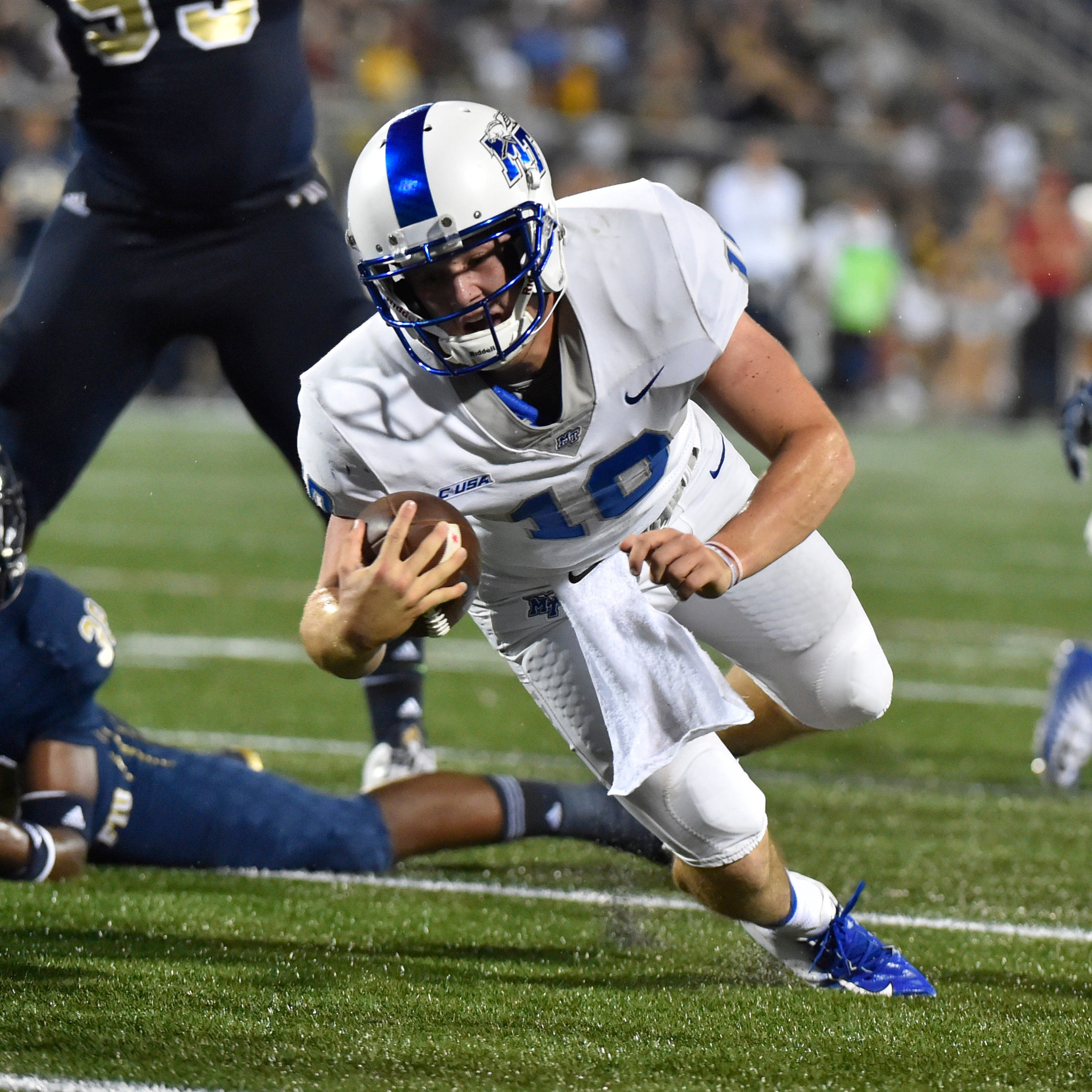 Asher O'Hara steps in for MTSU football after Brent Stockstill gets hurt