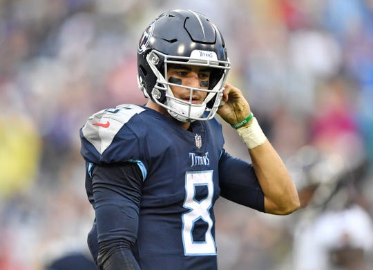 Marcus Mariota has made 48 starts for the Titans over the past four seasons.