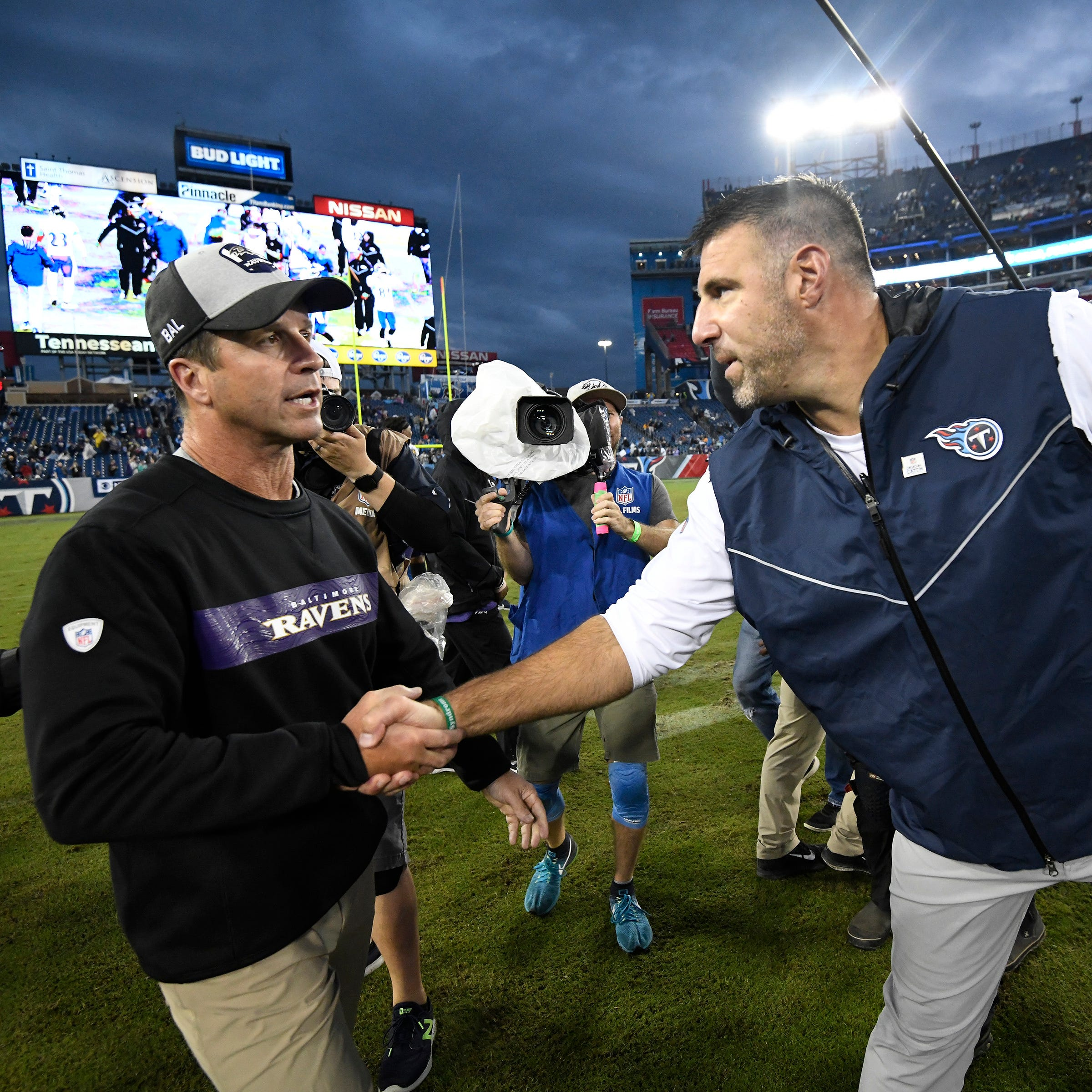 Titans' troubles must be fixed by Mike Vrabel, Matt LaFleur
