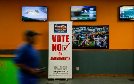On November 6, 2018 the general election ballot will have two constitutional amendments that are gambling-related.The amendment 13 would help decide if dog racing will come to an end in Florida by Jan. 1, 2021 and the amendment 3 would help decide whether more casinos will be allowed in Florida.