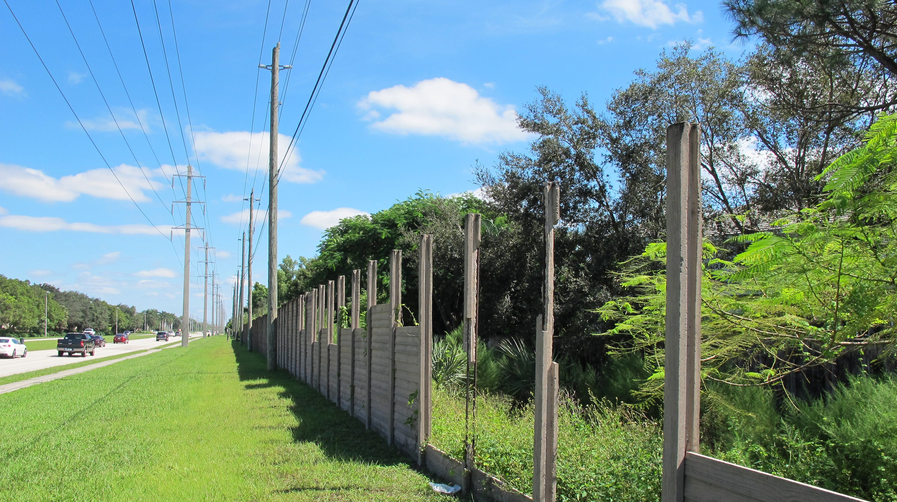 Work will start this month to replace the  concrete wall damaged by Hurricane Irma along the south side of Vanderbilt Beach Road in North Naples.