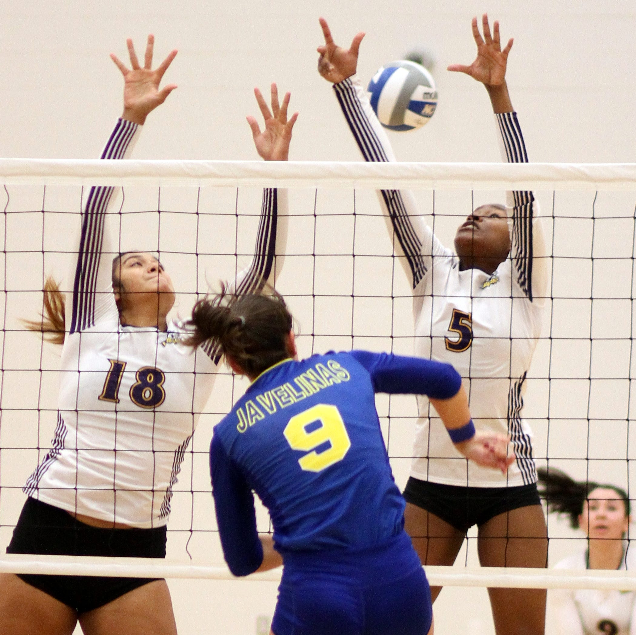 Texas-A&M-Kingsville tops WNMU in big school volleyball at Deming High School