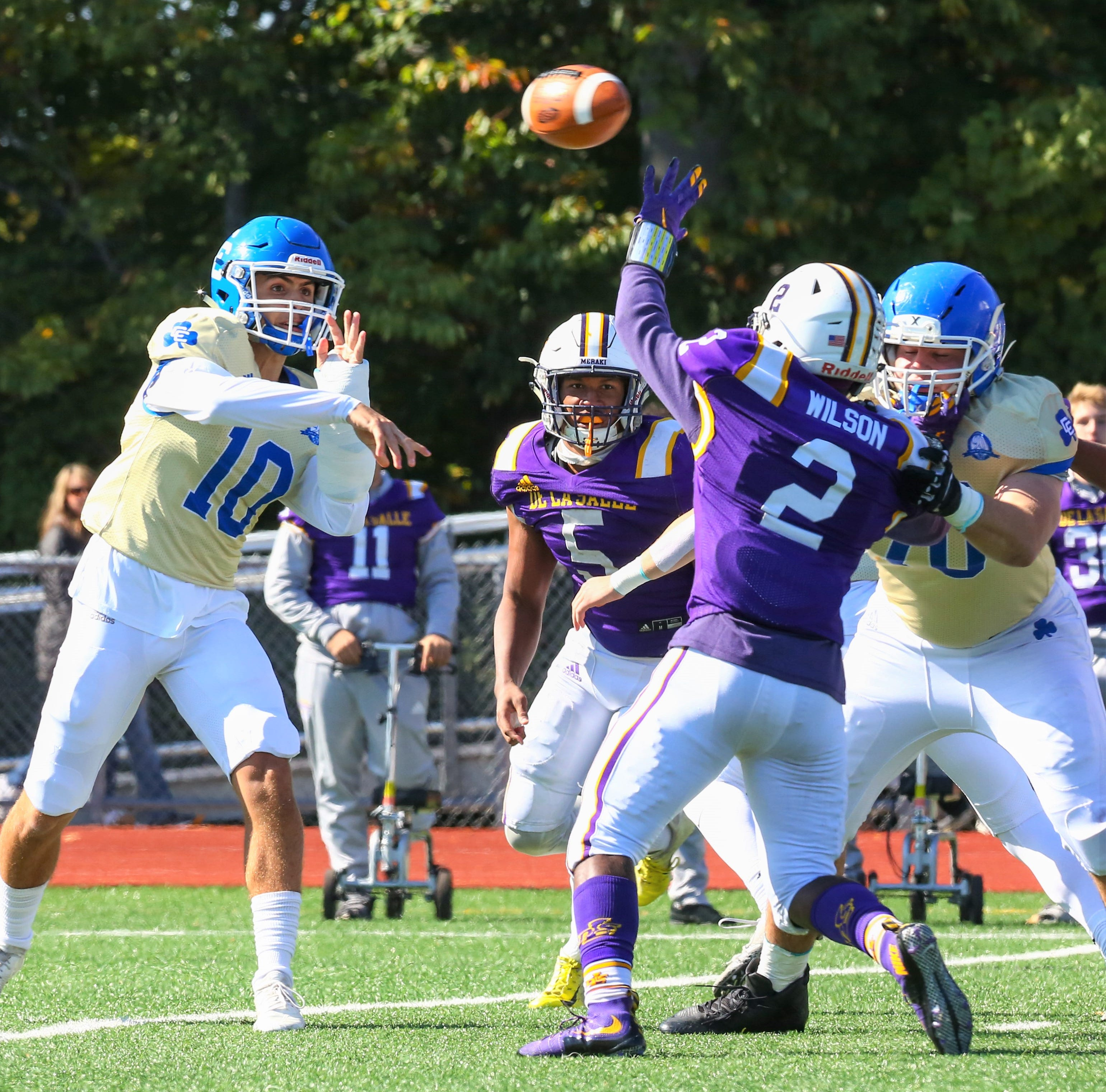 Boys Bowl: Detroit Catholic Central defense stymies DeLaSalle, 10-7