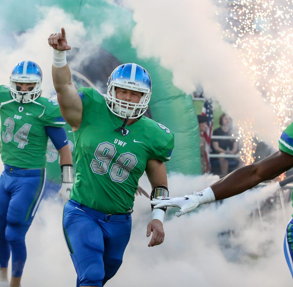 UWF's record crowd, biggest home football night turns quiet in loss