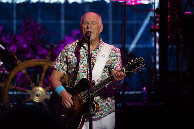 Jimmy Buffett and the Coral Reefer Band brought the party to