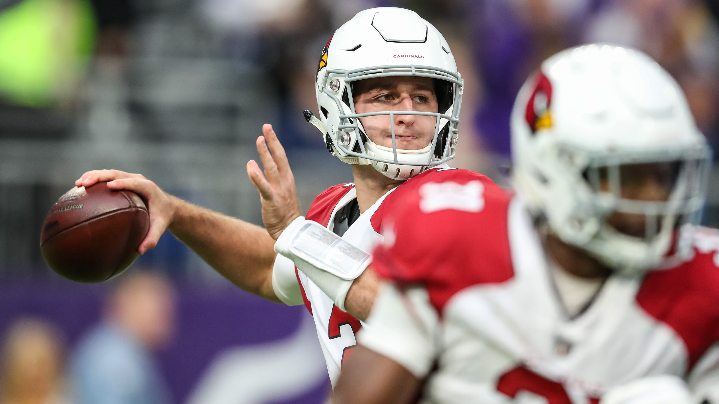 e1ee58357 Arizona Cardinals  Trent Dilfer thinks rocky start will aid Josh Rosen