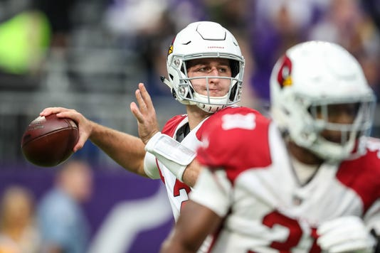 Nfl Arizona Cardinals At Minnesota Vikings