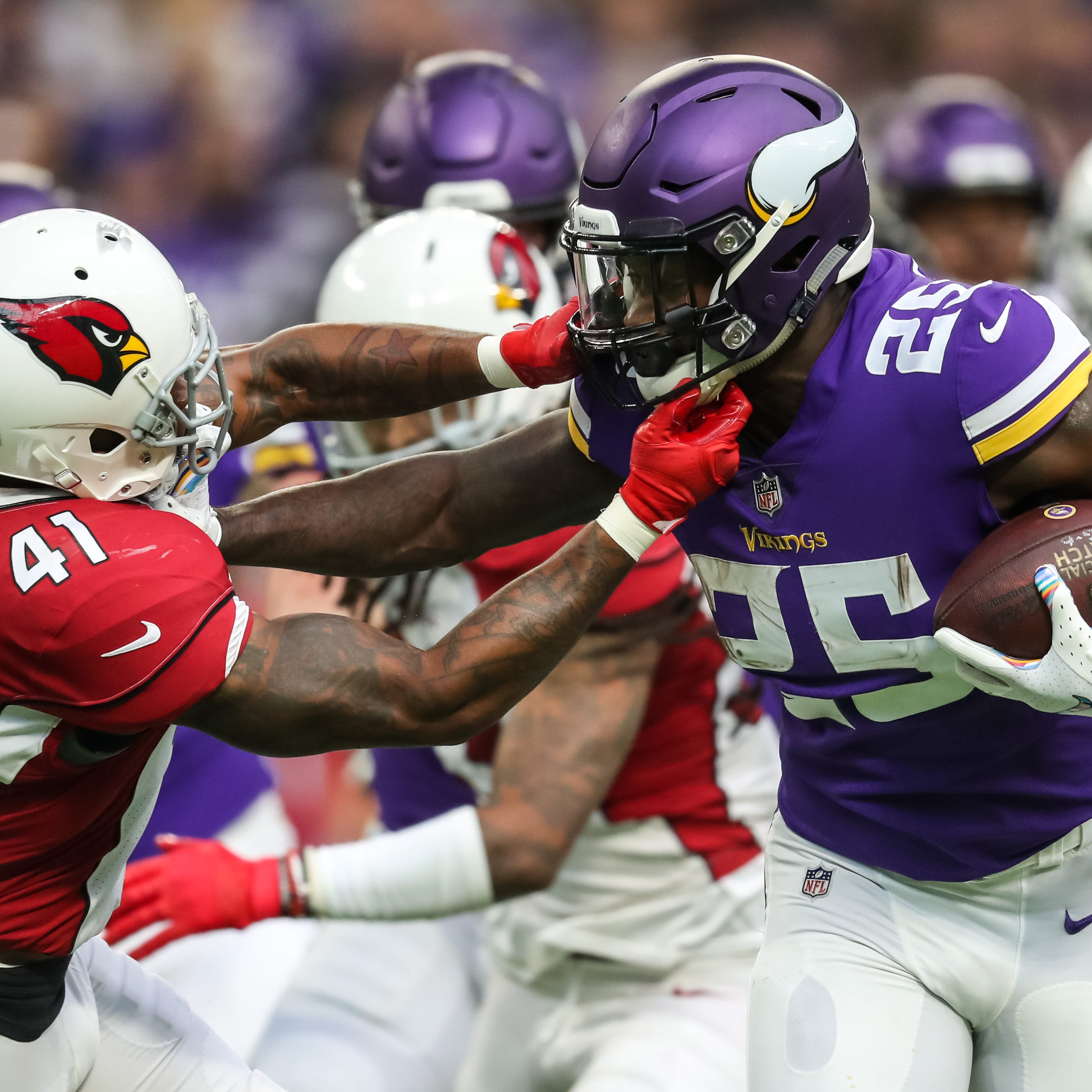 Arizona Cardinals buried by Minnesota Vikings and their own mistakes