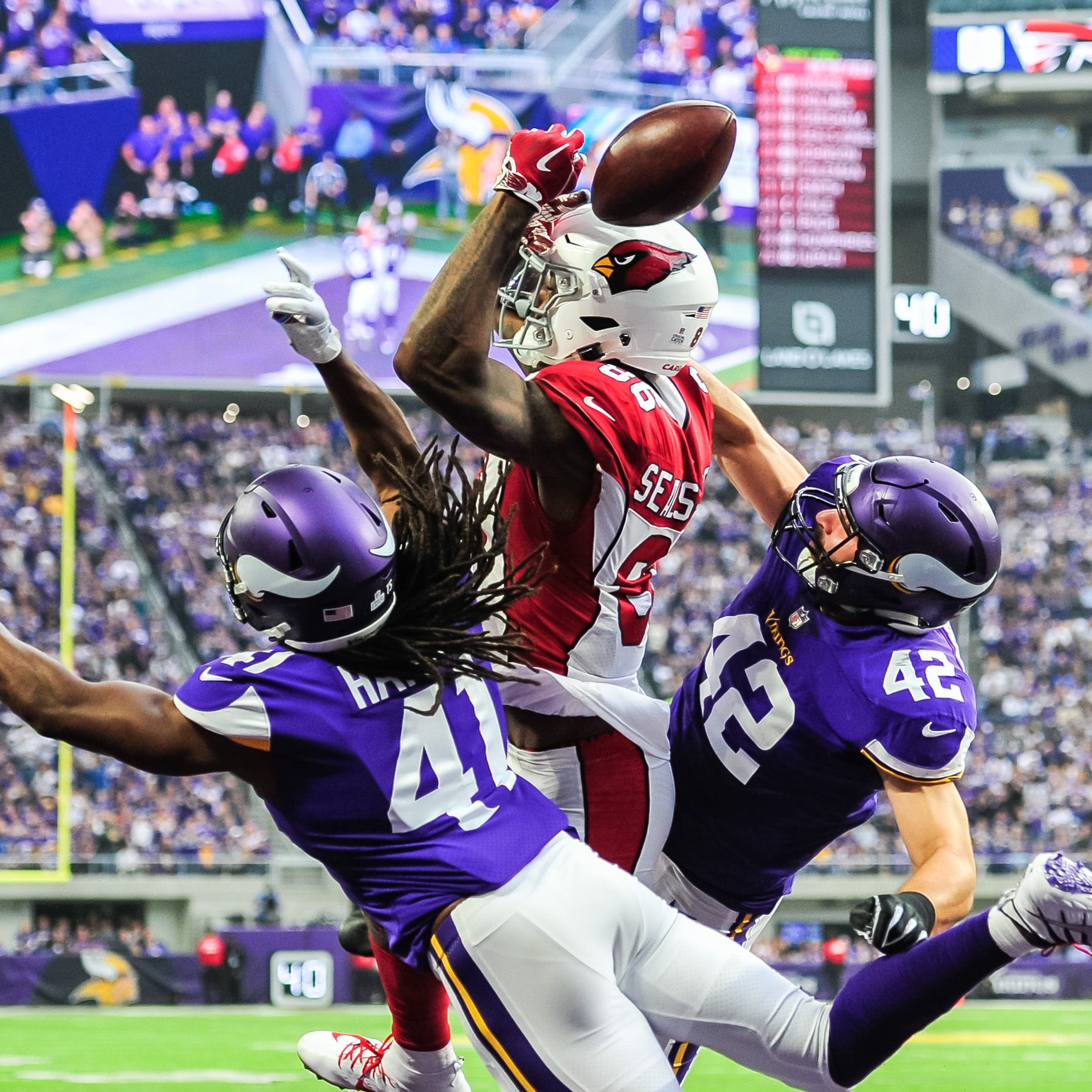 Instant replay: Cardinals worn down in loss to Vikings