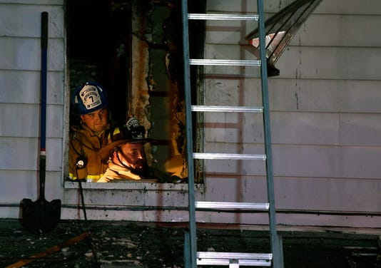 Family Displaced After Fire In Glen Rock