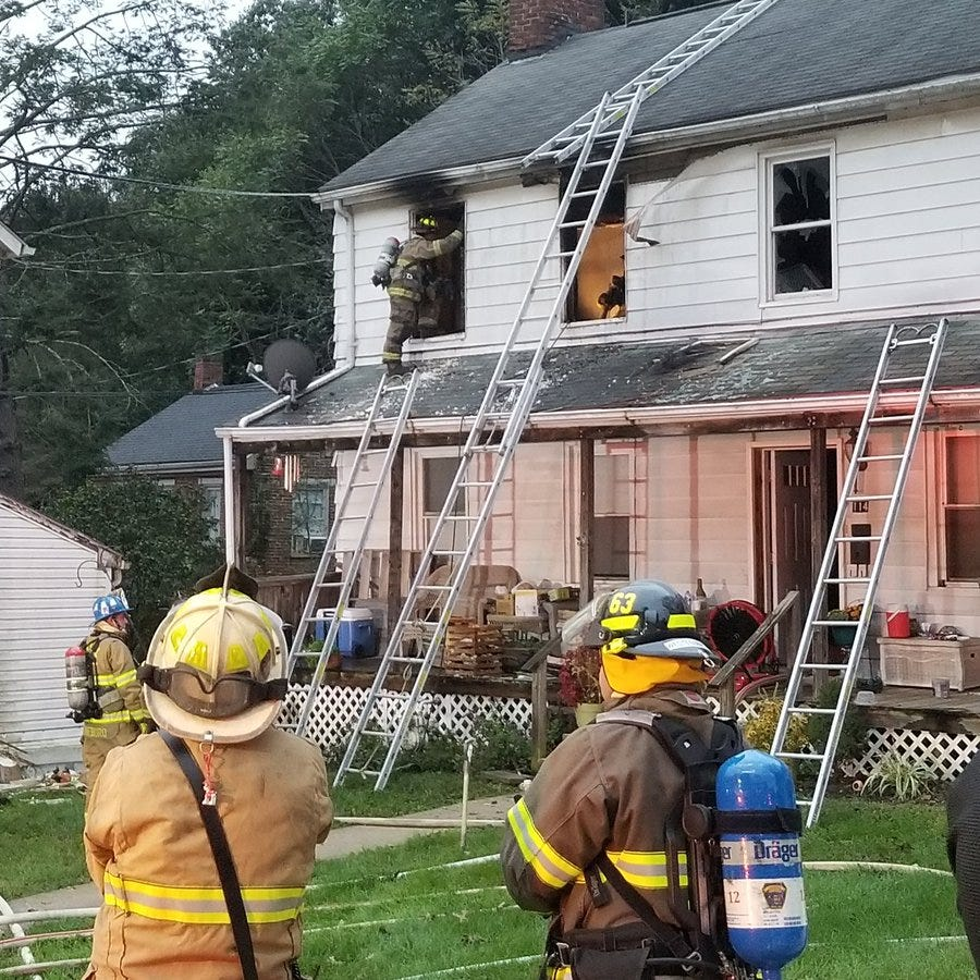 Crews responding to house fire in Glen Rock