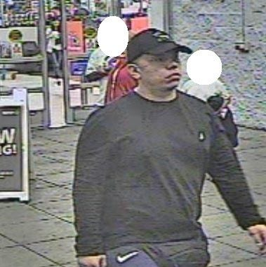 Fanny pack wearing man sought in Walmart theft