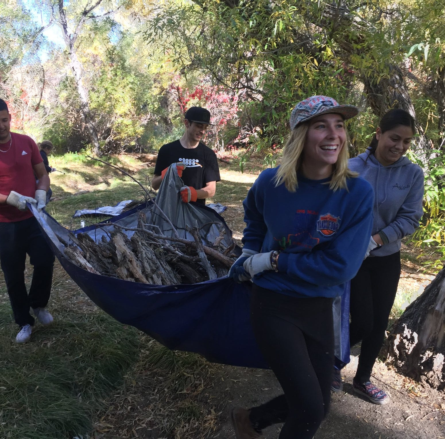 Volunteers removed 24,450 lbs of trash from the Truckee River during cleanup this weekend