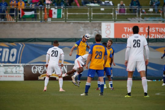 Reno 1868 FC  played Orange County SC on Saturday at Greater Nevada Field in downtown Reno.