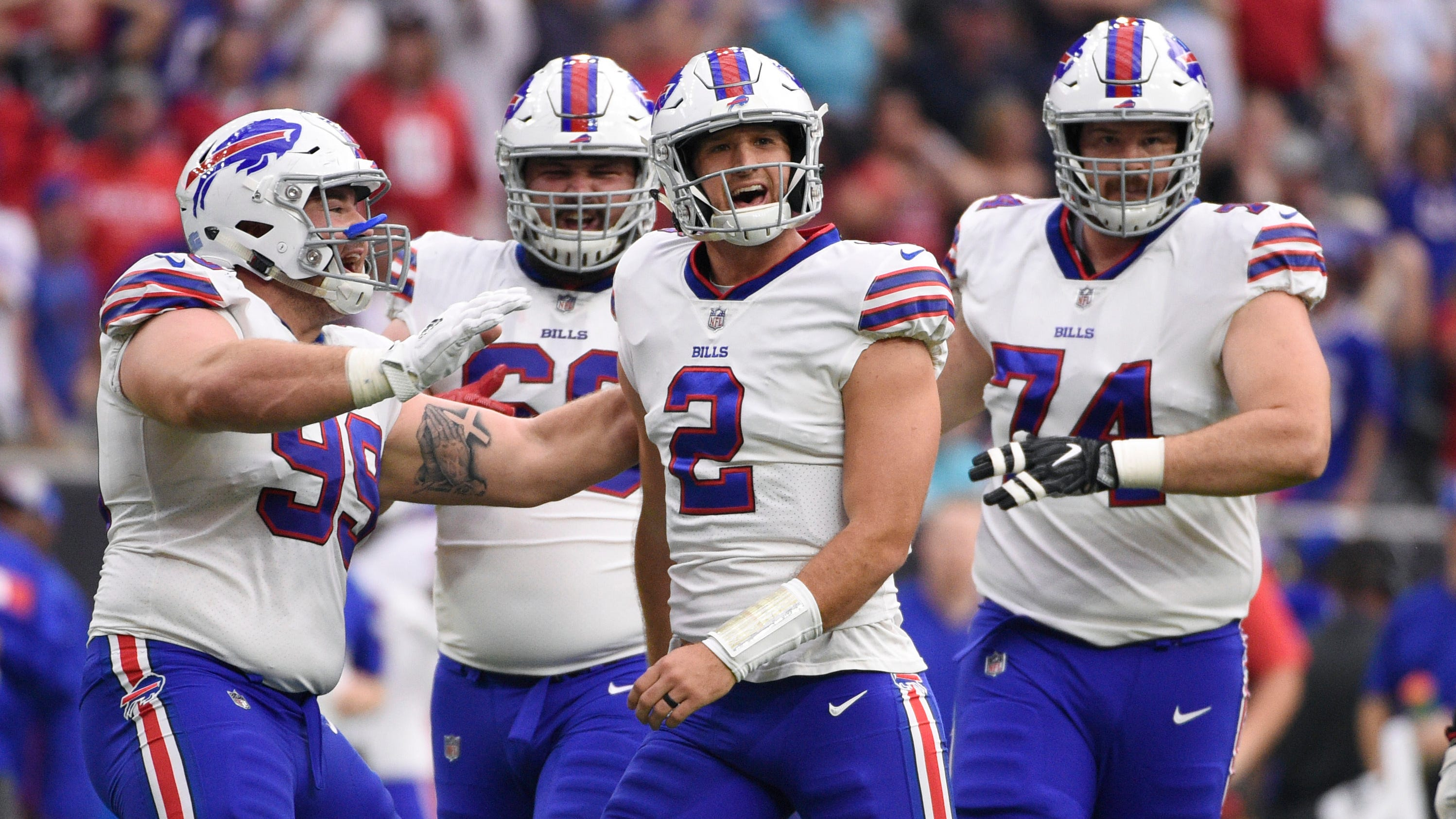 Nathan Peterman Could Start For Buffalo Bills If Derek Anderson Is