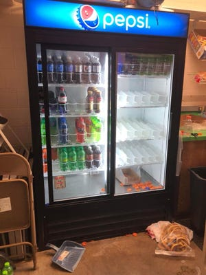McKay High School's concession stand was broken into overnight on Friday. Suspect or suspects got away with about $1200 worth of merchandise.